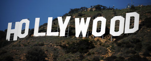 Hollywood Sign 490x200