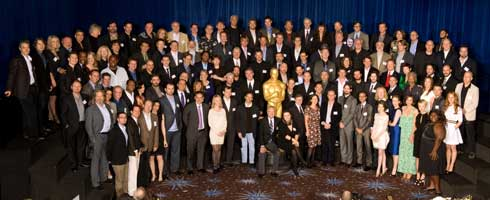 Oscars 2010 Group Pic 490