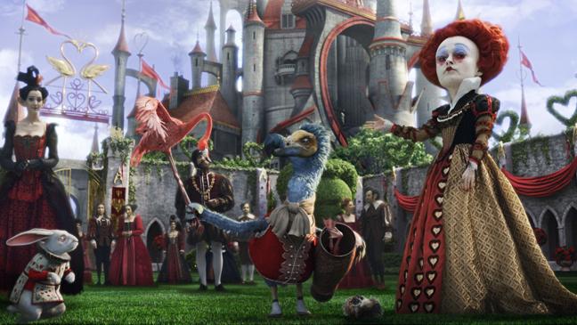 No. 6: Tim Burton's Alice in Wonderland, 2010