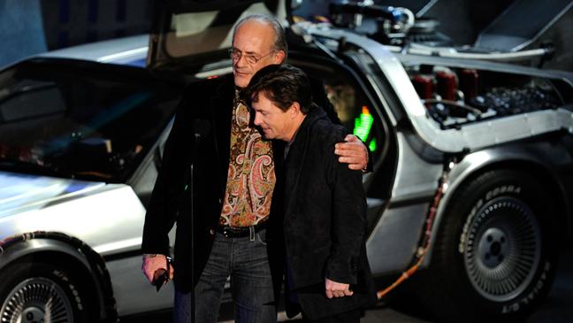 Spike TV's Scream 2010 - Christopher Lloyd and Michael J Fox