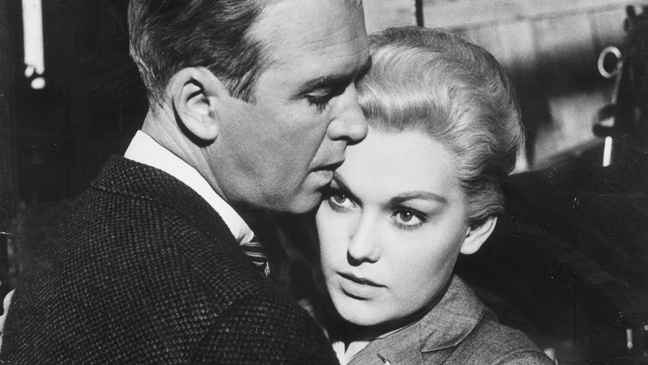 Kim Novak in Vertigo 1958