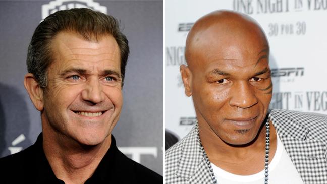 Split: Mel Gibson & Mike Tyson