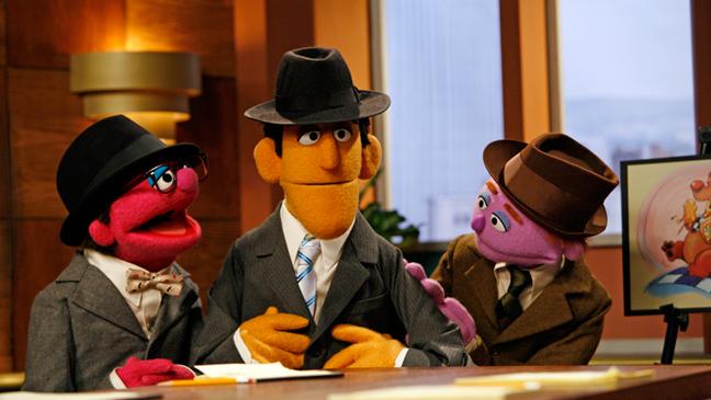 Sesame Street Mad Men