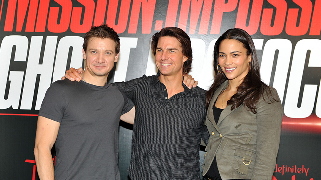 Tom Cruise Mission Impossible: Ghost Protocol