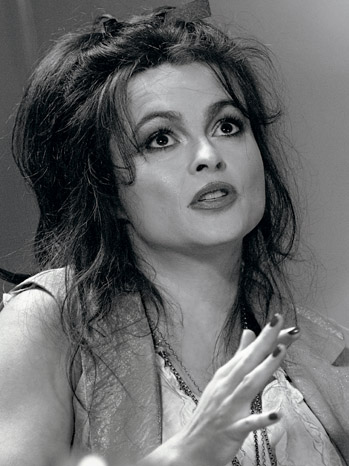 Issue 52 - Actress Roundtable: Helena Bonham Carter B&W Portrait- Actress_Roundtable-417