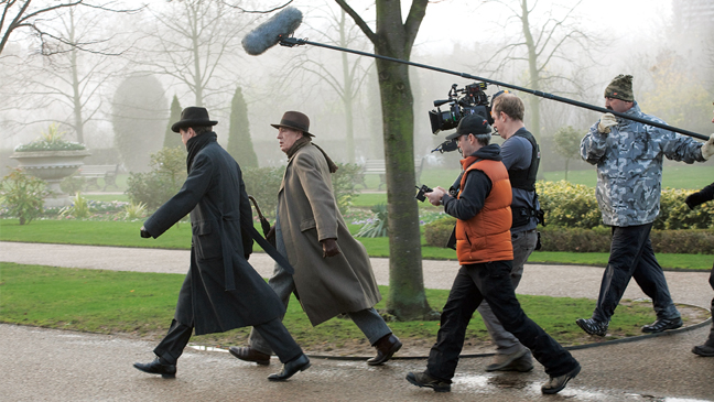 Issue 52 - Making of The King's Speech: Colin Firth & Geoffrey Rush Battle Terrible British Weather - KS_02669