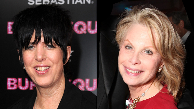 Diane Warren and Ronni Chasen