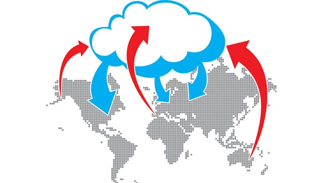 Issue 54 - A Cloud Burst: Cloud Illustration