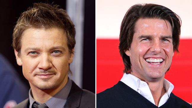 Jeremy Renner & Tom Cruise Split