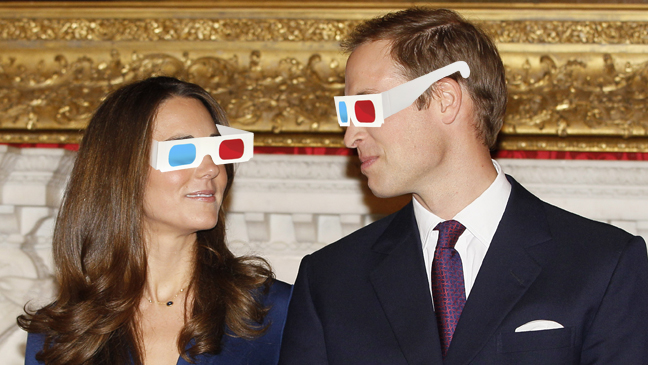 Issue 56 - The Report: Prince William and Kate Middleton With 3-D Glasses