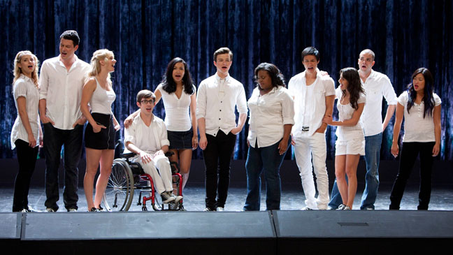 "Glee - ""Grilled Cheesus"" Episode - Season 2 - 2010"