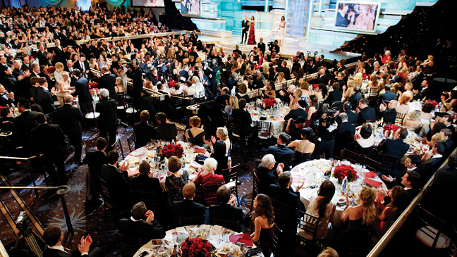 Issue 56A - Golden Globes Preview: Golden Globes Dinner