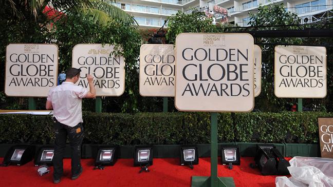 Golden Globes Red Carpet Prep 2011