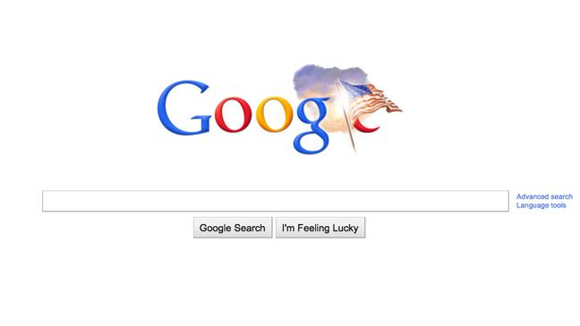 Google Logo - Veteran's Day 2010
