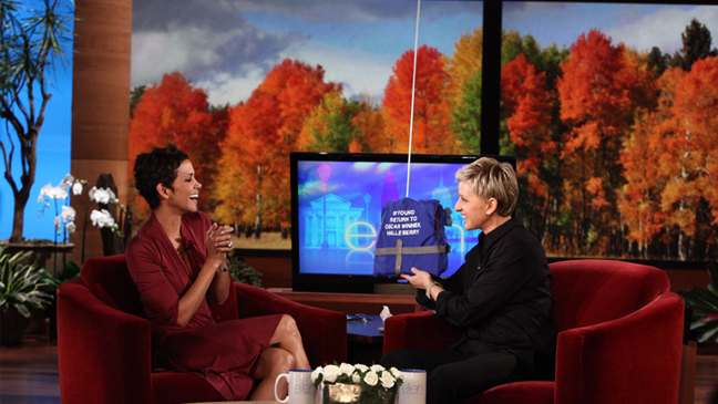 Halle Berry on The Ellen DeGeneres Show