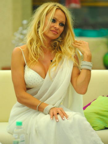 Pamela Anderson in India