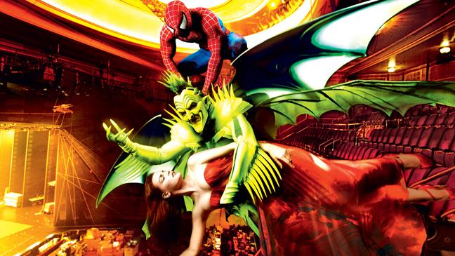 Spiderman - Annie Leibovitz
