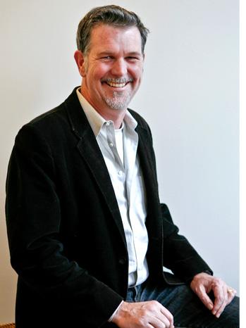 Reed Hastings - portrait - 2009