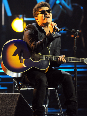Bruno Mars - Grammy Nominations Concert - 2010