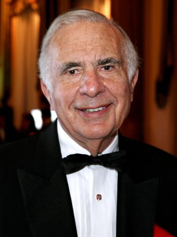 Carl Icahn - New York Historical Society's History Makers Gala - 2010