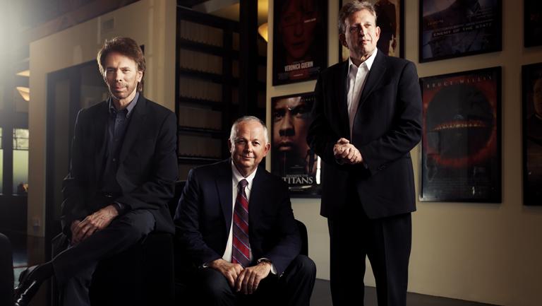 58 FEA Jerry Bruckheimer, Dick Cook, Joe Roth