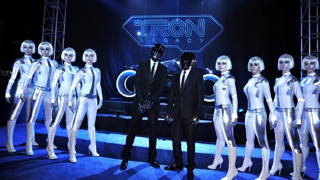 Daft Punk at Tron Premiere - 2010