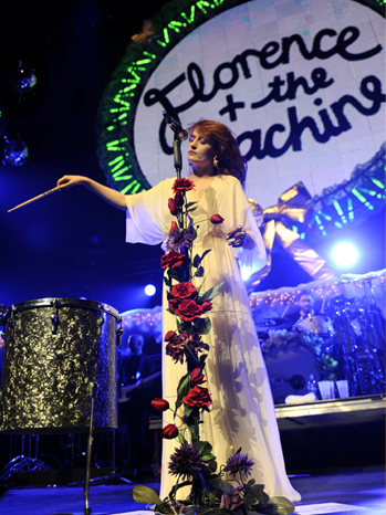 KROQ - Florence Welch - 2010