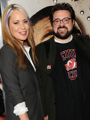 Kevin Smith and Jennifer Schwalbach
