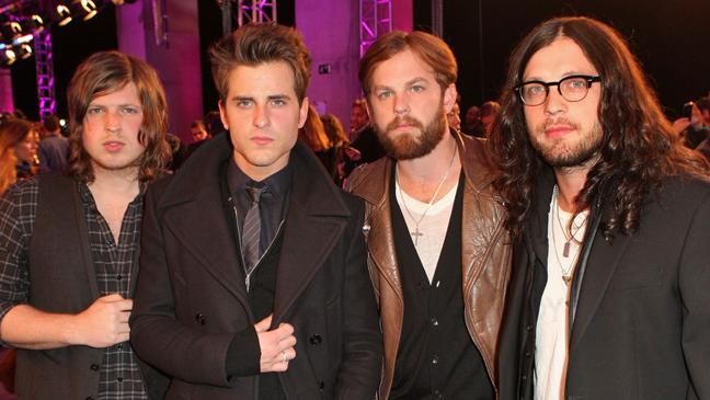 Kings of Leon - MTV Europe Awards - 2010