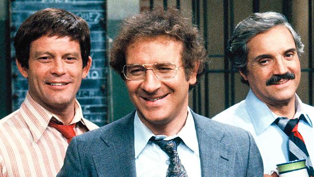 Max Gail - Steve Landesberg - Barney Miller - 1980