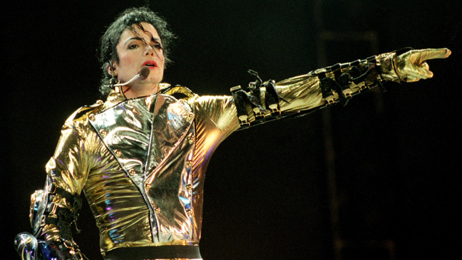 Michael Jackson Gold Jacket H