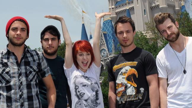 Paramore - Disney World - Handout - 2010