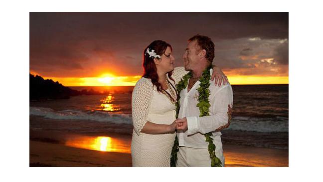 Danny Bonaduce Hawaii Wedding - 2010