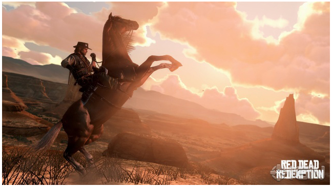'Red Dead Redemption' - Video Screen Grab