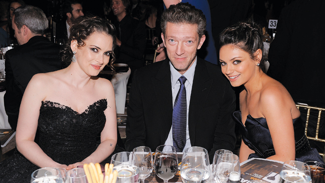 57 TOWN Winona Ryder, Vincent Cassel, and Mila Kunis