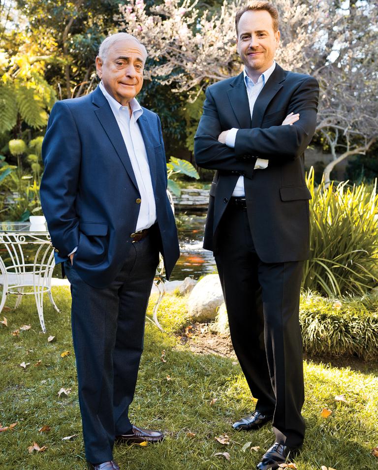 58 FEA Fred Silverman & Robert Greenblatt