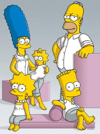 'The Simpsons' PR Shot