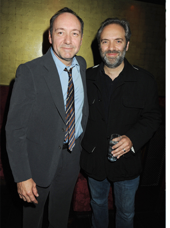 Kevin Spacey/Sam Mendez - The Cherry Orchard Afterparty - 2009