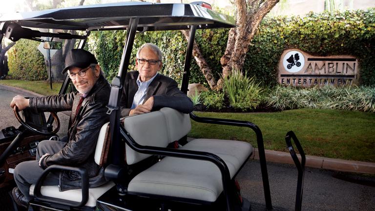 58 FEA Steven Spielberg & Sidney Sheinberg