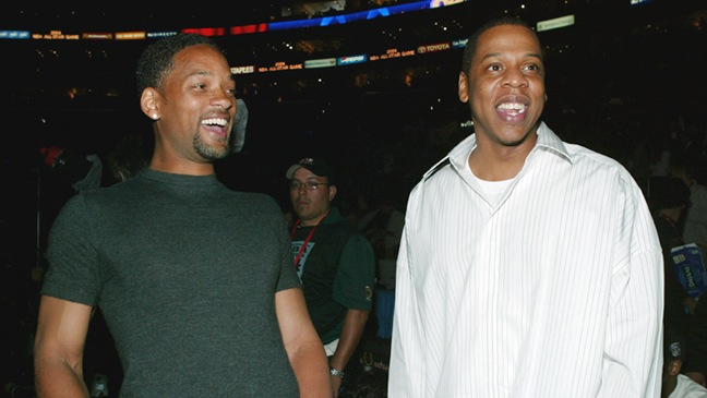 Will Smith & Jay-Z - NBA All-Star Game - 2004