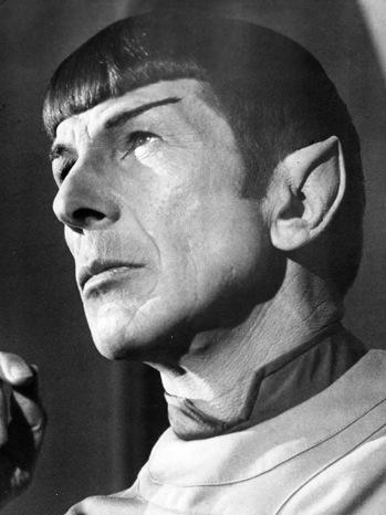 Star Trek - Leonard Nimoy as Mr Spock - 1968