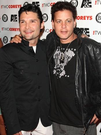 Corey Feldman & Corey Haim - Premiere Of 'The Two Coreys' - 2007