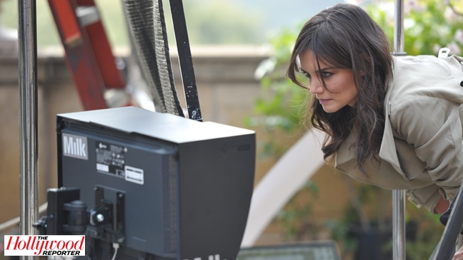 Katie Holmes - Behind The Anne Taylor Photo Shoot - 2011