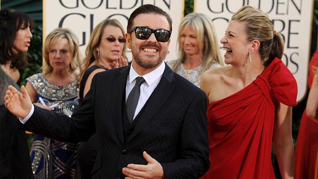Golden Globes - Ricky Gervais - 2011