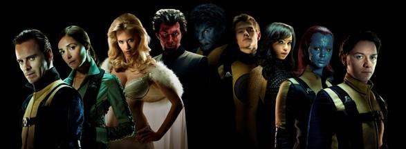 X-Men First Class Cast Shot