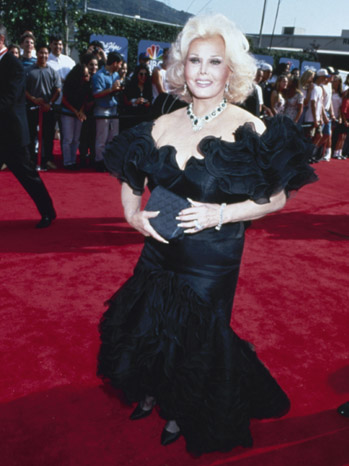 Zsa Zsa Gabor - Red Carpet - 1999