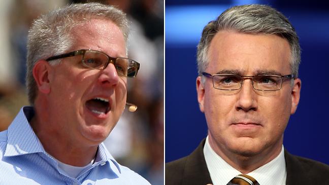 Glenn Beck, Keith Olbermann 2011 Split