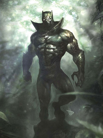 Black Panther - art - 2011