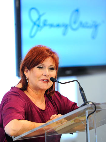 Carrie Fisher - Jenny Craig Announces New Celebrity Spokesperson - 2011