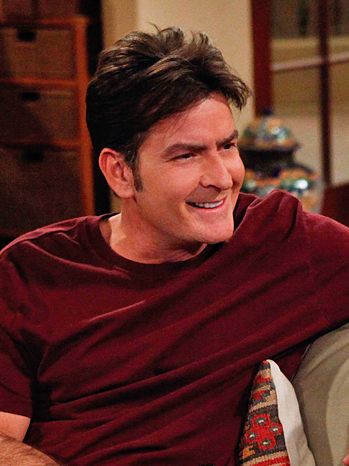 Charlie Sheen - Two and a Half Men - January 2010